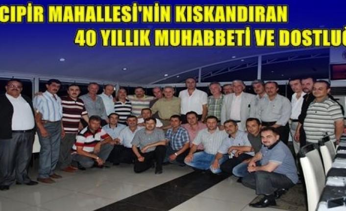 Tosya Hacıpir Mahallesinden 40 yıllık Dostluk