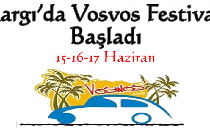 Kargı'da Vosvos Festivali Başladı