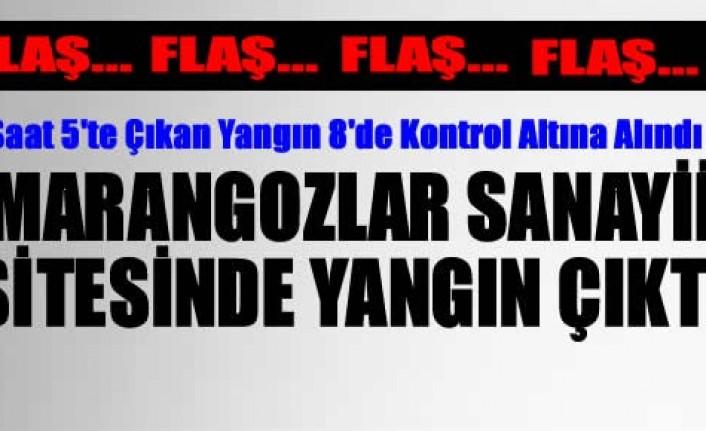 Tosya Marangozlar Sanayi Sitesinde 6 Dükkan Yandı