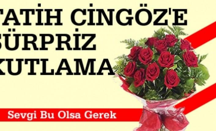 Tosya'da Fatih Cingöz'e Sürpriz Kutlama