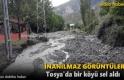Tosya Gökceöz Köyünde Sel Felaketi