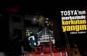 Tosya'da Baca Yangını