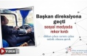 Başkanın Sosyal Medya Paylaşımı Rekor Kırdı