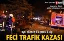 Tosya Kaymakamlık Kavşağında Feci Trafik Kazası