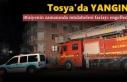 TOSYA'DA İTFAİYENİN ZAMANINDA MÜDAHALESİ