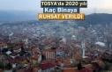2020 YILINDA TOSYA'DA KAÇ BİNAYA RUHSAT VERİLDİ