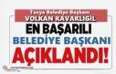 Tosya Belediye Başkanı Volkan Kavaklıgil Yılın...