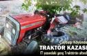TOSYA'DA TRAKTÖR KAZASI