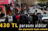 Tosya'da Engelli Gencin Parası Gasp Edildi