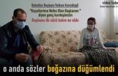 Belediye Başkanı Hasta Genç Kızı Evinde Ziyaret Etti