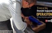 Tosya'da Otomobil Bağajında Yapılan Tedavi