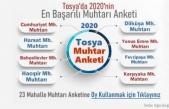 Tosya'da Mahallenin Sorunlarıyla En Yakından İlgilenen Muhtar Sizce Kim