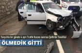Tosya'da 1 Günde 4 Ayrı Trafik Kazası