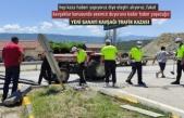 TOSYA YENİ SANAYİ KAVŞAĞI TRAFİK KAZASI