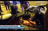 TOSYA MERKEZDE MOTOSİKLET KAZASI