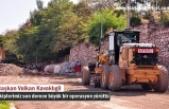 Tosya Belediyesi Sıcak Asfalt Çalışmasına Hız Verdi