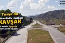 Tosya'da Mühendislik Harikası OSB Kavşağı
