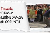 TOSYA'DA 10 KASIM ATATÜRK'Ü ANMA TÖRENİ