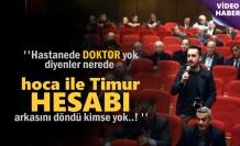Hakkı Köylü ''Tosyada'ki Doktor yokluğu sorununu abartmayın''