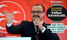 MHP TOSYA BELEDİYE BAŞKAN ADAYI VOLKAN KAVAKLIGİL ADAY TANITIM TOPLANTISI