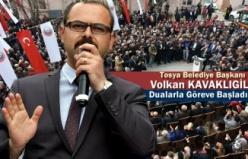Tosya Belediye Başkanı Volkan Kavaklıgil Dualarla Göreve Başladı