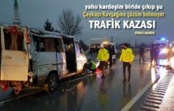 TOSYA ÇAYKAPI KÖYÜ TRAFİK KAZASI