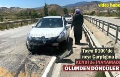 TOSYA D100 DE AKILALMAZ TRAFİK KAZASI