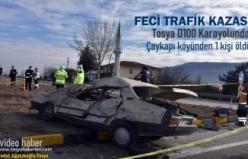Tosya Ölümlü Trafik Kazası