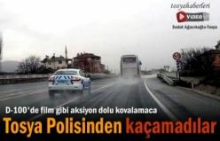 Tosya D-100 Karayolunda Heyecan Dolu Dakikalar