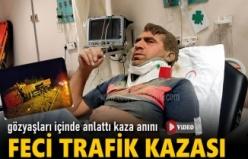 TOSYA-KASTAMONU YOLUNDA FECİ KAMYON KAZASI