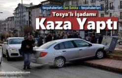 Tosya Şehiriçi Trafiğinde Kaza