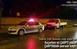 Tosya'da Park Halindeki Kamyonete Çaprtılar