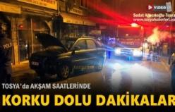 Tosya'da Park Halinde Araç Yangını