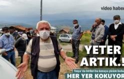 Tosya'da Bir Köye Kokudan Girilmiyor