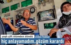 Tosya'da Yaşlı Çift Trafik Kazasında Ölümden Döndü