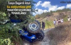 TOSYA DAĞARDI KÖYÜ TRAKTÖR KAZASI