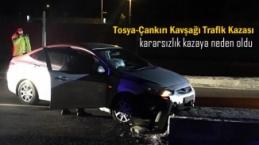 Tosya-Çankırı Kavşağı Trafik Kazası