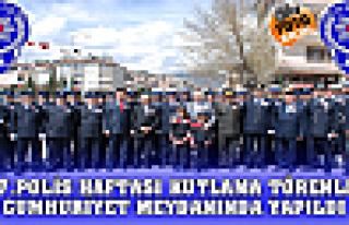 167.Polis Haftası Törenleri Cumhuriyet Meydanında...