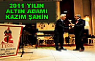 2011 YILIN ALTIN ADAMI KAZIM ŞAHİN