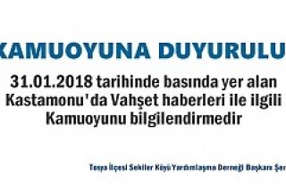 Tosya İlçesi Sekiler Köyü Yardımlaşma Derneği...