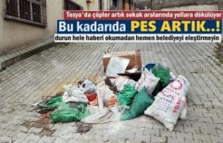 Tosya'da'' Zihniyeti Çöplük''...