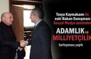 Tosya Kaymakamı ile Eski Bakan Danışmanı Sosyal...