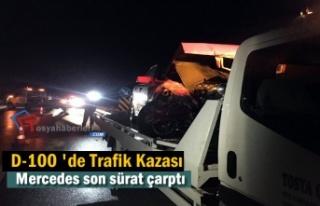 Tosya D-100 Karayolunda Trafik Kazası