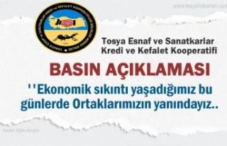 Tosya Esnaf Kefalet Koopratif Başkanlığı Basın...