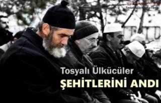 Tosyalı Ülkücü Şehit Mehmet Sarıaslan Kabri...