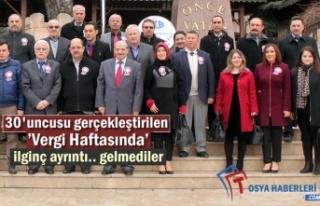 VERGİ HAFTASI KUTLAMALARI TOSYA'DA BAŞLADI