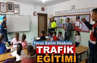 Tosya Yavuz Selim İlkokulu Öğrencilere Trafik Eğitimi...