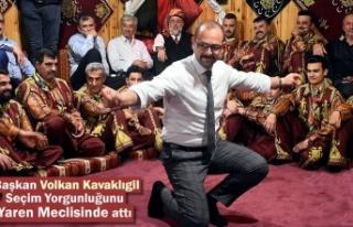 Belediye Başkanı Volkan Kavaklıgil Yaren Meclisinde...