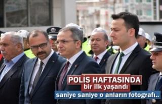 Polis Haftası Kutlamalarında Tosya'da Bir İlk...