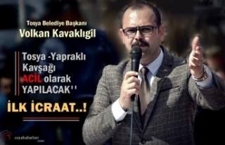 Tosya Belediye Başkanı Volkan Kavaklıgil ''...